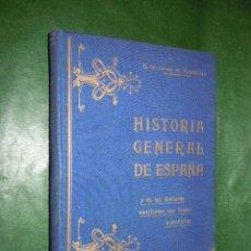 Libros antiguos: HISTORIA GENERAL DE ESPAÑA Y DE LAS NACIONES AMERICANAS ESPAÑOLAS VOL.IV - A. CARCER DE MONTALBAN. Lote 20442859