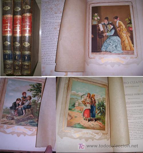 LA EDUCACION DE LA MUJER (Libros Antiguos, Raros y Curiosos - Literatura - Otros)
