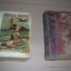Libros antiguos: LA ESPOSA MARTIR. POR ENRIQUE PEREZ ESCRICH. 2 TOMOS. PRECIOSAS LAMINAS ILUSTRADAS. AÑO 1920.. Lote 26966119
