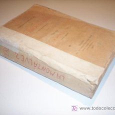 Libros antiguos: OBRAS COMPLETAS DE D. JOSE M. DE PEREDA. TOMO XII . LA MONTÁLVEZ SEGUNDA EDICION (1900). Lote 20827515