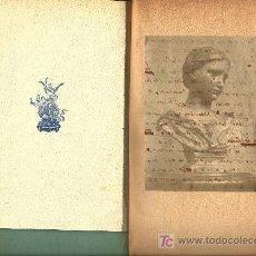 Libros antiguos: NOTAS SOBRE LA CABEZA DE CERA DE LA COLECCIÓN WICAR / PHILIPPE BURTY -1890. Lote 23619402