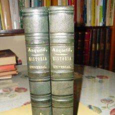 Libros antiguos: 1848 EL NUEVO ANQUETIL HISTORIA UNIVERSAL 42 LÁMINAS GRABADAS AL ACERO. Lote 26151699