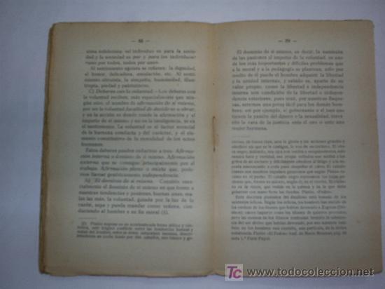 Libros antiguos: Deberes del Hombre Tratado Elemental de Ética ALEJANDRO DÍEZ BLANCO 1928 RM43194 - Foto 3 - 21015216