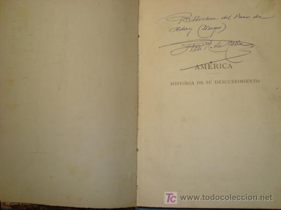 Libros antiguos: AMÉRICA - HISTORIA DE SU DESCUBRIMIENTO - RODOLFO CRONAU - TOMO SEGUNDO (1892) - Foto 7 - 21173524