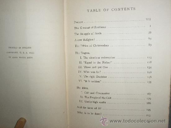 Libros antiguos: THE CALL OF THE TIME (ANNA MARIA ROOS) 1933 - Foto 3 - 27139026