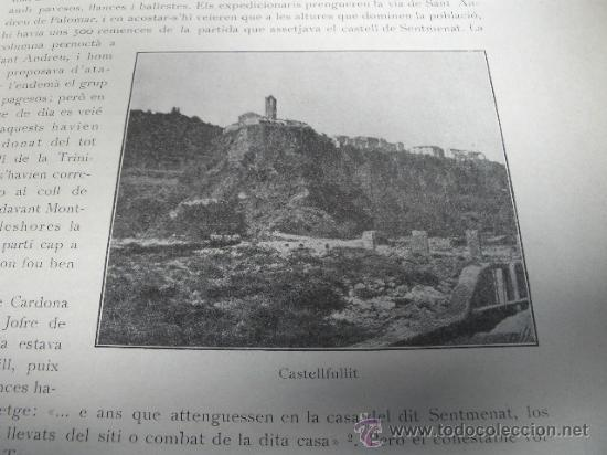 Libros antiguos: HISTORIA NACIONAL DE CATALUNYA, ROVIRA I VIRGILI 7 VOLS. ED.PÀTRIA 1922-1934 - Foto 8 - 39840075
