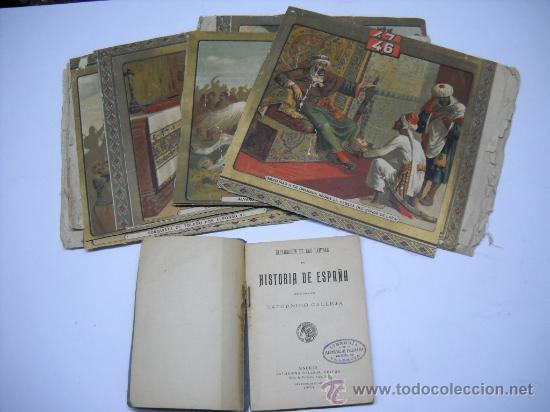 EXPLICACIÓN DE LAS LÁMINAS DE HISTORIA DE ESPAÑA DE S. CALLEJA. 1876.10X15 112P. + 14 LÁMINAS (Libros Antiguos, Raros y Curiosos - Historia - Otros)