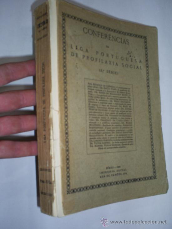 CONFERÊNCIAS DA LIGA PORTUGUESA DE PROFILAXIA SOCIAL 3ª SERIE 1936 RM41704 (Libros Antiguos, Raros y Curiosos - Otros Idiomas)