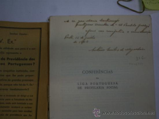Libros antiguos: Conferências da Liga Portuguesa de Profilaxia Social 3ª Serie 1936 RM41704 - Foto 4 - 25591477