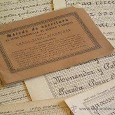 Libros antiguos: **METODO DE ESCRITURA DE LETRA REDONDILLA, DE ADORNOS Y ENLACES** ¡¡¡ ANTIGUO !!!. Lote 26900179