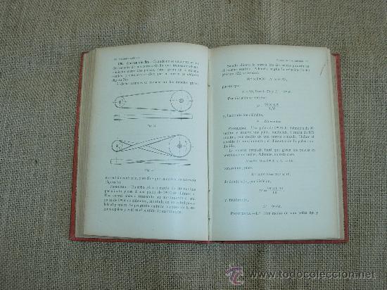 Libros antiguos: Mecánica Aplicada. Ed.Gustavo Gili, 19O6. - Foto 3 - 26280749