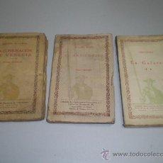 Libros antiguos: TRES ANTIGUOS LIBROS - BIBLIOTECA CERVANTES. Lote 27059105