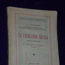Libros antiguos: LA ESCULTURA GOTICA. . Lote 25020918