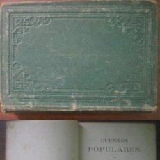 Libros antiguos: CUENTOS POPULARES. FÁBULAS. DE TRUEBA, ANTONIO; HARTZENBUSCH, JUAN EUGENIO. 1862. Lote 21844830