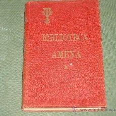 Libros antiguos: BIBLIOTECA AMENA- X. Lote 27225066