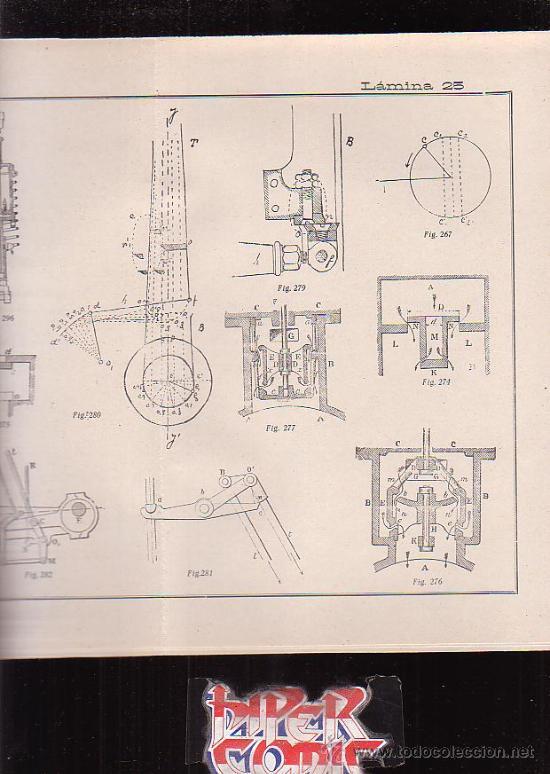 Libros antiguos: TRATADO DE MAQUINAS DE VAPOR / AUTOR : DON JOSE DE IRIARTE Y ARJONA - editado en 1923 - Foto 4 - 244897160