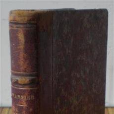 Libros antiguos: NOTIONS COMPLEMENTAIRES .. COMPTABILITE GENERALE .. PAR HIPPOLYTE VANNIER .. 1868. Lote 22143495