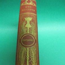 Libros antiguos: ANTIGUO LIBRO, AVENTURES OF DON QUIXOTE DE LA MANCHA , LONDON FREDERICK WARNE AND CO.,. Lote 22365443