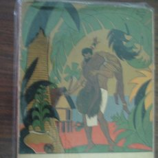 Libros antiguos: CAÍN. AVENTURA DE LOS MARES EXÓTICOS. POIRIER, LEON. 1931 DÉDALO. Lote 22426340