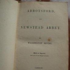 Libros antiguos: WASHINGTON IRVING NEWSTEAD ABBEY 1850. Lote 26790724