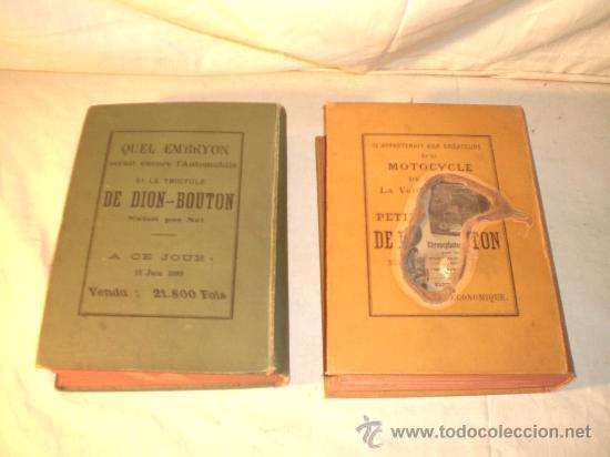 Libros antiguos: 1797- 2 libros L'AUTOMOBILE THÉORIQUE ET PRATIQUE; 1899 - Foto 2 - 22507120