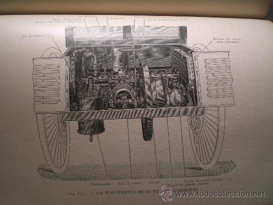 Libros antiguos: 1797- 2 libros L'AUTOMOBILE THÉORIQUE ET PRATIQUE; 1899 - Foto 4 - 22507120