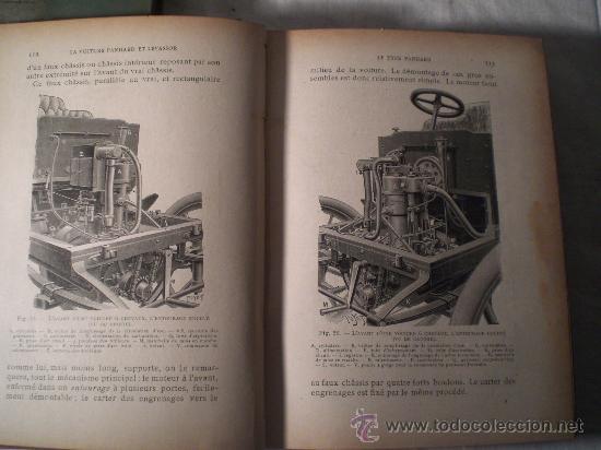 Libros antiguos: 1797- 2 libros L'AUTOMOBILE THÉORIQUE ET PRATIQUE; 1899 - Foto 5 - 22507120