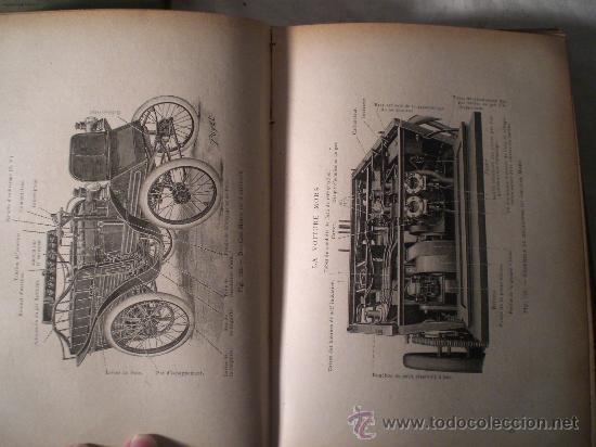 Libros antiguos: 1797- 2 libros L'AUTOMOBILE THÉORIQUE ET PRATIQUE; 1899 - Foto 6 - 22507120