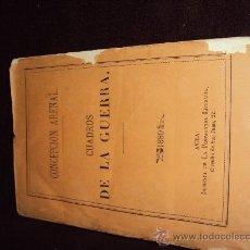 Libros antiguos: CUADROS DE LA GUERRA. CONCEPCIÓN ARENAL . 1880 . PRIMERA EDICIÓN. AVILA. Lote 22517180