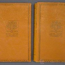 Libros antiguos: LA CIUTAT DE GIRONA. (GERONA) 2 VOLUMS. CARLES RAHOLA. EDITORIAL BARCINO. BARCELONA, 1929.. Lote 22547517