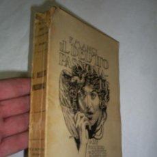 Libros antiguos: IL DELITTO PASSIONALE FILIPPO MANCI TORINO FRATELLI BOCCA – EDITORI 1928 RM47574. Lote 22772695