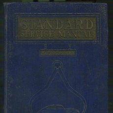 Libros antiguos: ESTANDAR SERVICE MANUAL . Lote 3338107