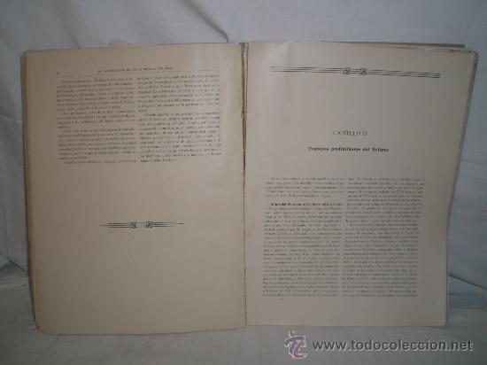 Libros antiguos: 0173- NOTICIA DEL OBSERVATORIO Y DE ALGUNAS OBSERVACIONES DEL ECLIPSE.EDIT GUSTAVO GILI. 1906 - Foto 4 - 22786157
