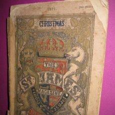 Libros antiguos: THE ST JAMES MAGAZINE, CHRISTMAS BOX, LONDON, 1871, BELLOS GRABADOS, CROMOLITOGRAFÍA DE GILBERT. Lote 22854184