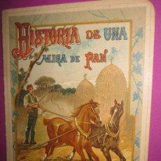 Libros antiguos: MUSEO DE LA NIÑEZ, HISTORIA DE UNA MIGA DE PAN, MADRID, HERNANDO Y Cª, CIRCA 1920. ILUSTRADO.. Lote 22856049