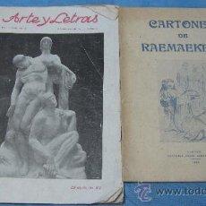 Libros antiguos: CARTONES DE RAEMAEKERS 1916. Lote 27055595