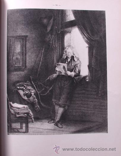 Libros antiguos: LES EAUX - FORTES DE REMBRANDT. L ENSEMBLE DE L OEUVRE - LA TECHNIQUE DES - Foto 4 - 27236602