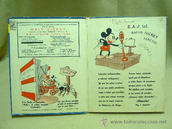 Libros antiguos: LIBRO, CANCIONERO, PARTITURAS, ABECEDARIO MUSICAL DE MICKEY, WALT DISNEY, SINFONIAS INOCENTES, 1936 - Foto 2 - 22949619
