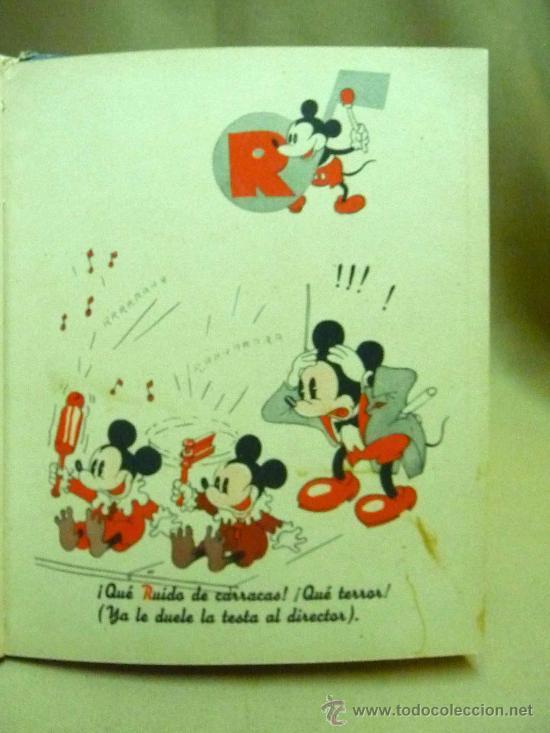 Libros antiguos: LIBRO, CANCIONERO, PARTITURAS, ABECEDARIO MUSICAL DE MICKEY, WALT DISNEY, SINFONIAS INOCENTES, 1936 - Foto 5 - 22949619