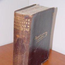 Libros antiguos: AGUILAR. MIGUEL DE CERVANTES. OBRAS COMPLETAS. Lote 26315648