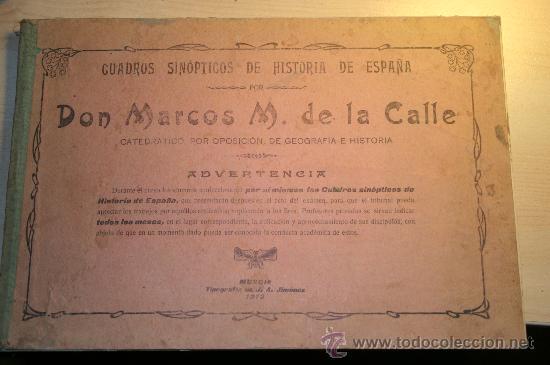 cuadros sinópticos de historia de españa por ma - Comprar en ...
