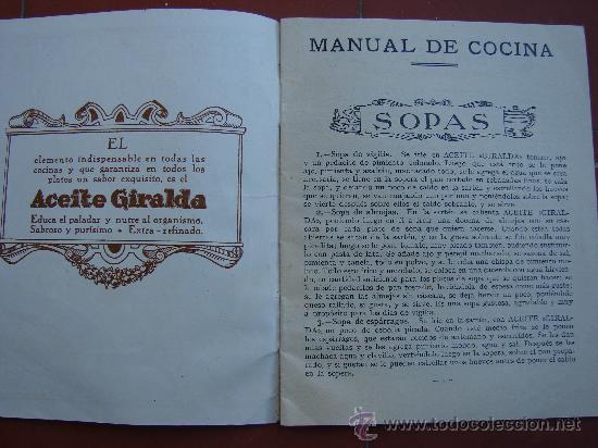 Libros antiguos: RECETARIO DE COCINA. AÑOS 20-30 - Foto 3 - 26468253