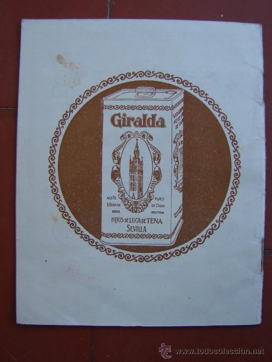 Libros antiguos: RECETARIO DE COCINA. AÑOS 20-30 - Foto 4 - 26468253