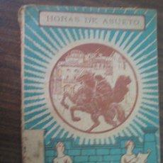 Livros antigos: HORAS DE ASUETO.BERTA QUINTERO, Mª. 1927. LECTURAS CATÓLICAS 394. Lote 23253826