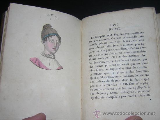 1815 - LE LAVATER DES DAMES OU LÀRT DE CONNOITRE LES FEMMES SUR LEUR PHYSIONOMIE - 30 LAMINAS COLOR (Libros Antiguos, Raros y Curiosos - Ciencias, Manuales y Oficios - Otros)