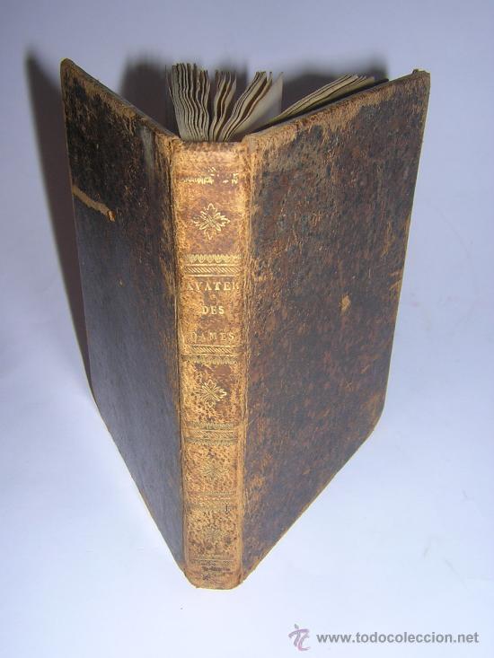 Libros antiguos: 1815 - LE LAVATER DES DAMES OU LÀRT DE CONNOITRE LES FEMMES SUR LEUR PHYSIONOMIE - 30 LAMINAS COLOR - Foto 2 - 26503984