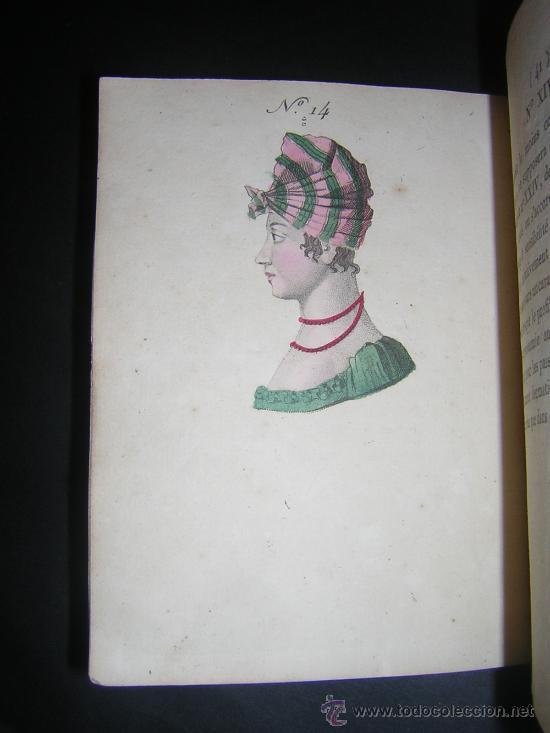 Libros antiguos: 1815 - LE LAVATER DES DAMES OU LÀRT DE CONNOITRE LES FEMMES SUR LEUR PHYSIONOMIE - 30 LAMINAS COLOR - Foto 9 - 26503984