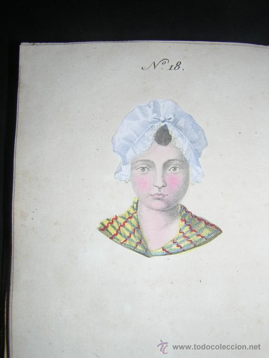 Libros antiguos: 1815 - LE LAVATER DES DAMES OU LÀRT DE CONNOITRE LES FEMMES SUR LEUR PHYSIONOMIE - 30 LAMINAS COLOR - Foto 11 - 26503984