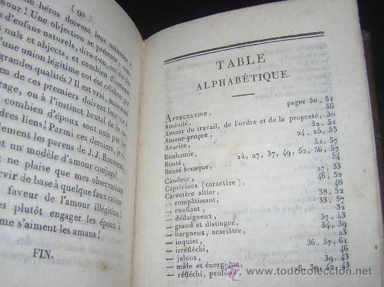 Libros antiguos: 1815 - LE LAVATER DES DAMES OU LÀRT DE CONNOITRE LES FEMMES SUR LEUR PHYSIONOMIE - 30 LAMINAS COLOR - Foto 14 - 26503984