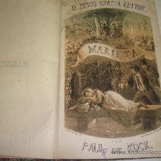 Libros antiguos: MARIETA. PAUL DE KOCK. Lote 23572649
